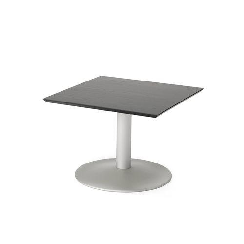 Sohvapöytä, 700x700 mm, musta, harmaa