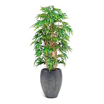Synthetic Bamboo with pot, H 1700 mm