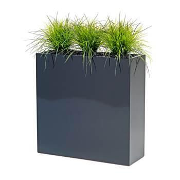 Blomserkasse med gressplanter, 1200 mm