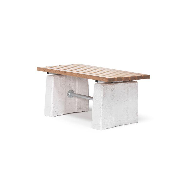 Heavy duty park table