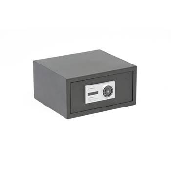 Värdeförvaringsskåp, kodlås, 230x455x350 mm