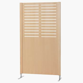 Wooden screen, line, 940x1720 mm, beech veneer