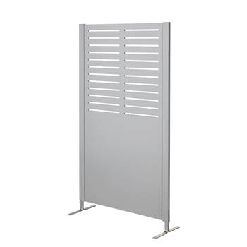 Wooden screen, line, 940x1720 mm, grey
