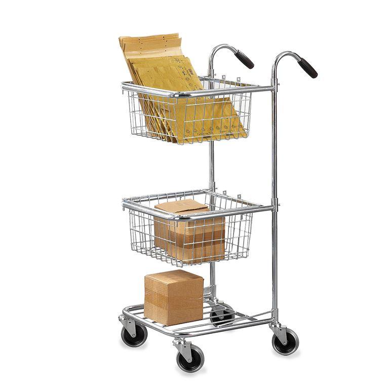Post distribution trolley