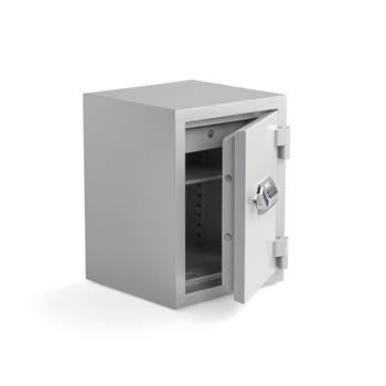 Brandsäkert dokumentskåp, kodlås, 640x490x465 mm