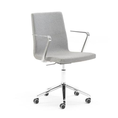 Czarne krzesło biurowe HASTINGS