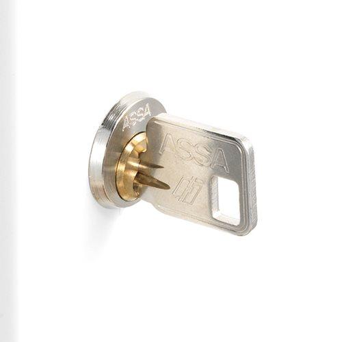 ASSA cylinderlås inkl. 2 nycklar