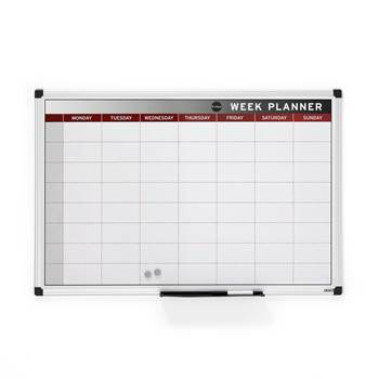Whiteboard ukesplanlegger, 900x600 mm