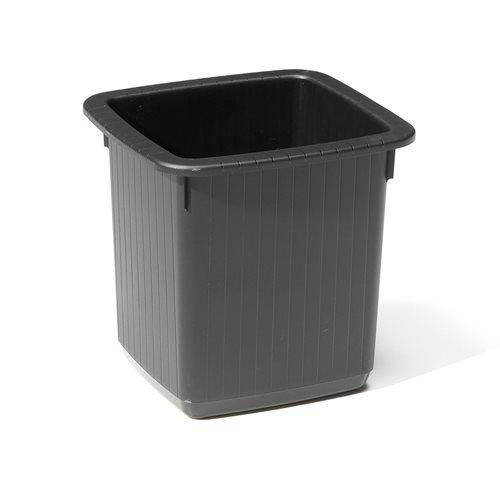 Square waste paper bin