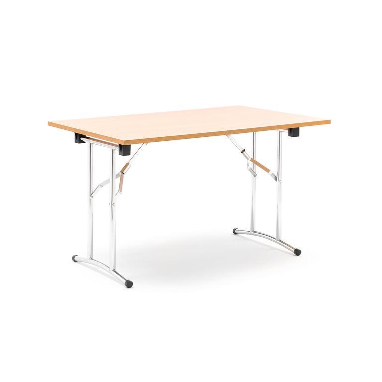 Stół konferencyjny o dł.800x720x1200mm stelaż chrom