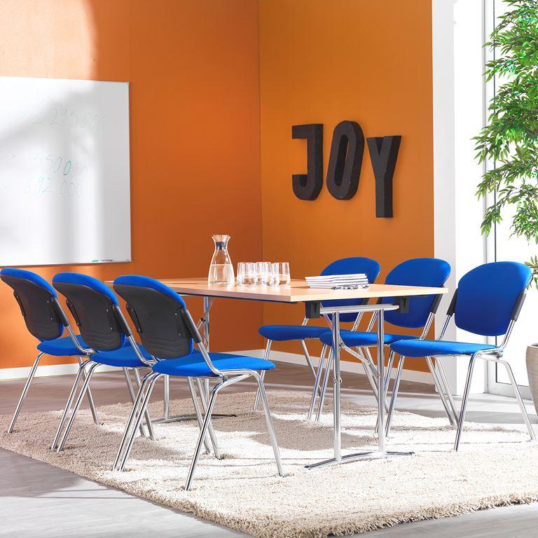 Kokoontaitettava pöytä, 1200x800 mm, pyökkilaminaatti, harmaa