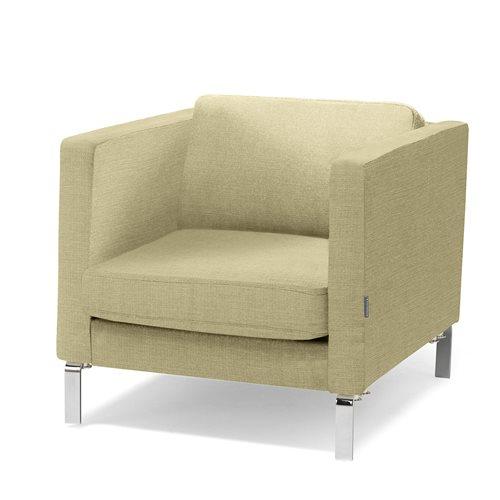 #en Wating room armchair, soft green fabric