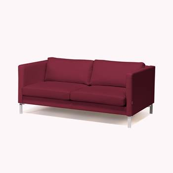 #en Wating room 3 seater sofa, burgundy fabric