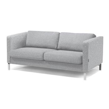 #en Wating room 3 seater sofa, ligth grey wool