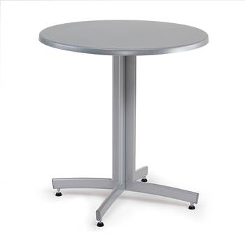 Round café table, Ø700x720 mm, anthracite, alu lacquer