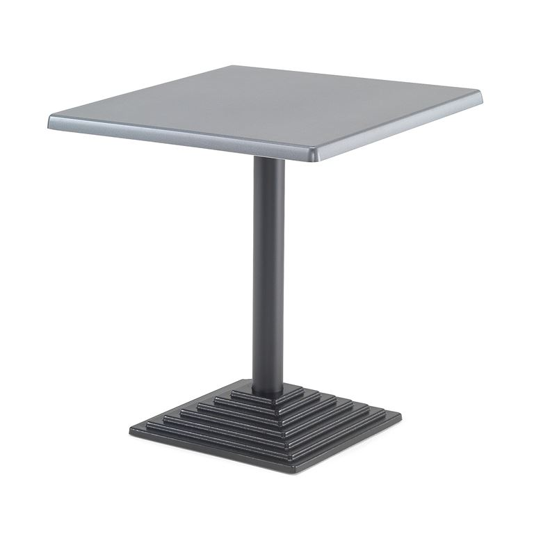 Kahvilapöytä Topalit-tasolla 700x700 mm
