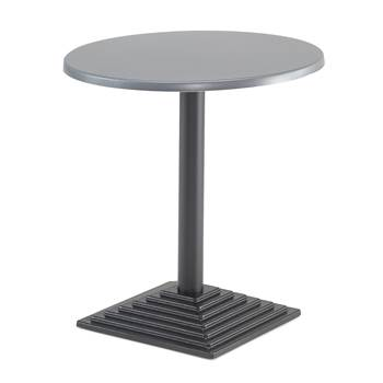 Round café table, Ø700x720 mm, anthracite, black