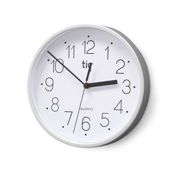 Standard wall clock, Ø 225 mm, white