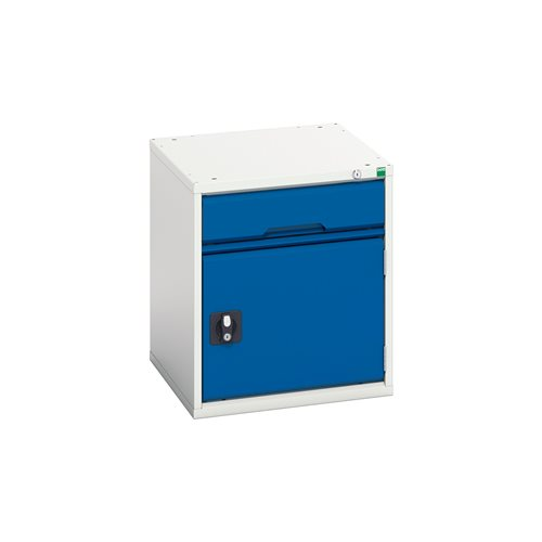 Under bench storage: 1 drawer+cupboard: H600xW500