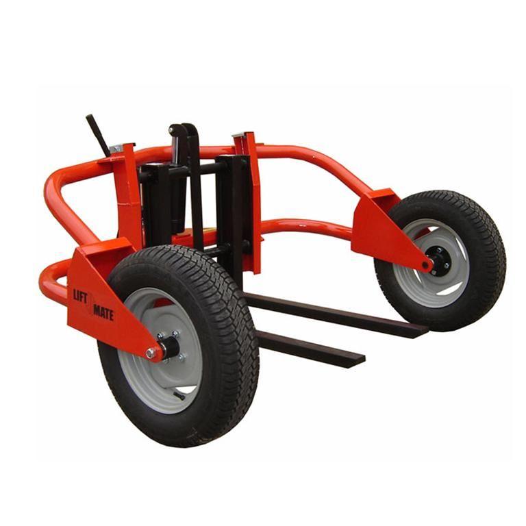Rough terrain hand pallet truck: 1500kg