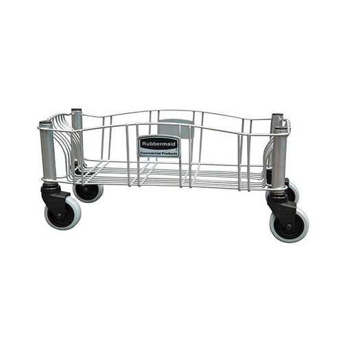 Steel dolly for Slim Jim containers: powder-coated