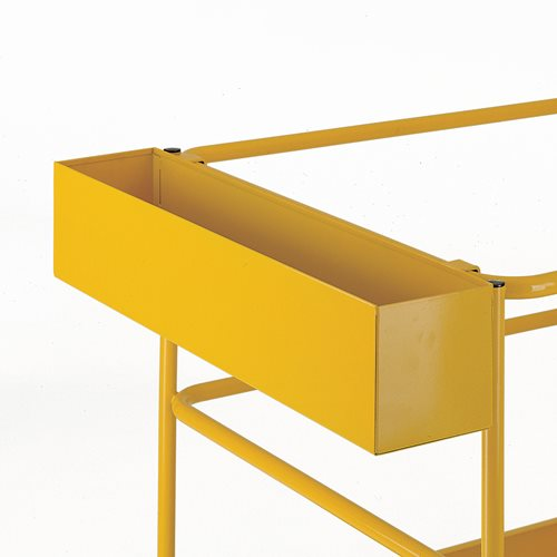 Tool tray for access platform