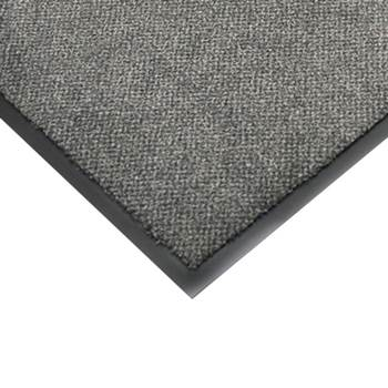 Edge strip for the heavy duty entrance mat