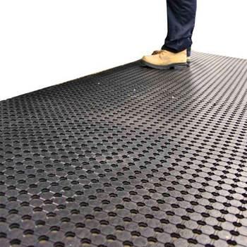 Industrial runner mat, 900x5000 mm, black