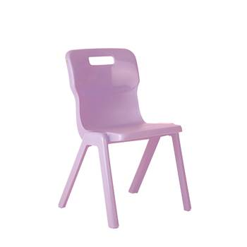 All-in-one plastic chair, H 260 mm, purple