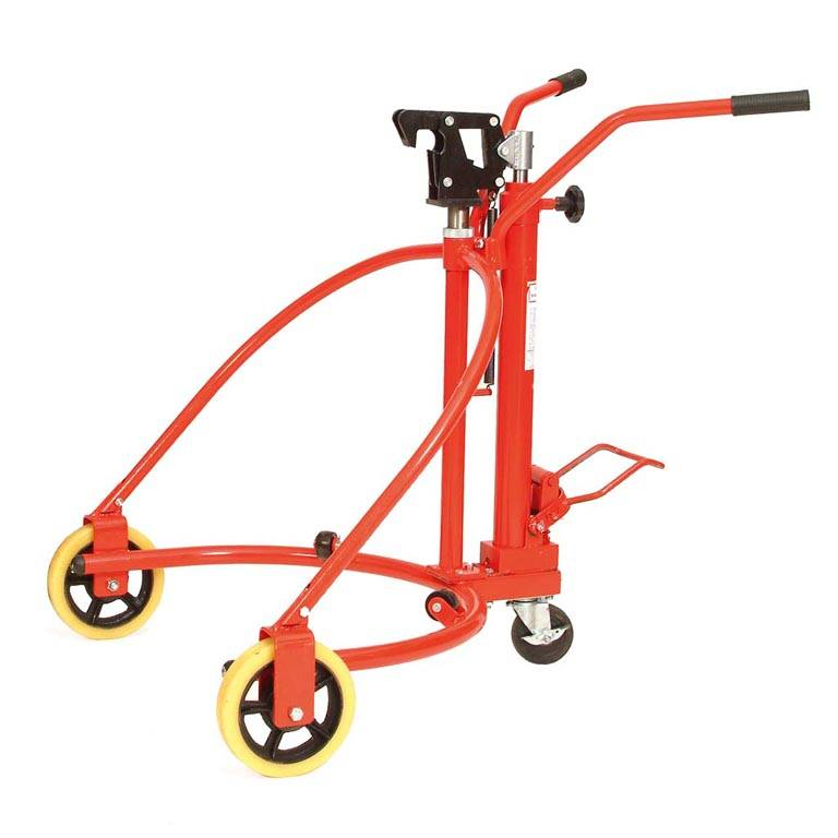 Hydraulic drum lifter: 280kg