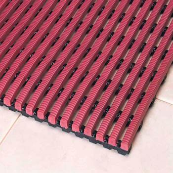 Exclusiv work mat, full roll, 500x10000 mm, red
