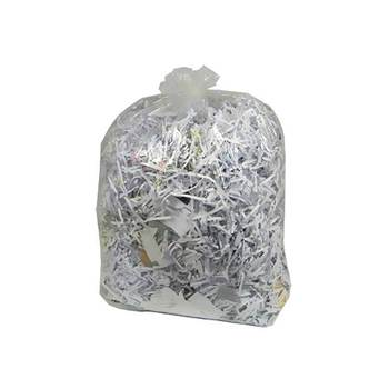 Clear bin liners: 200 pack