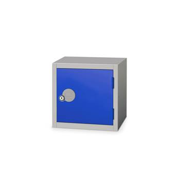 Cube locker, 300x300x300 mm, dark blue