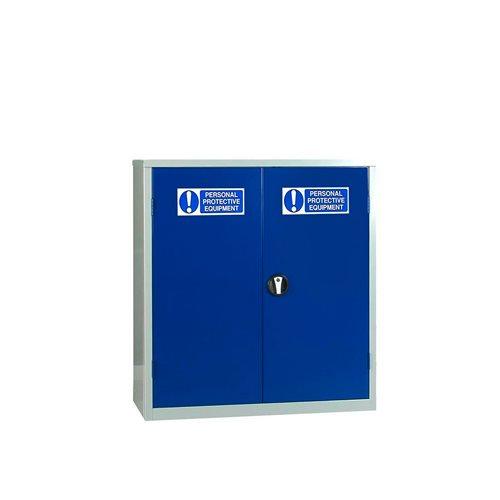 PPE storage cabinet: 1 shelf