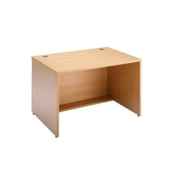 Straight reception desk, 800x800x742 mm, beech