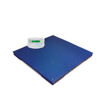 Large platform scales, 3000 kg load, 0.5 kg, 1000x1000 mm