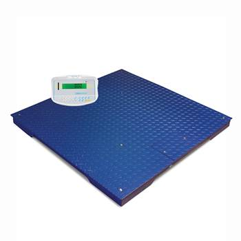 Large platform scales, 3000 kg load, 0.5 kg, 1200x1200 mm