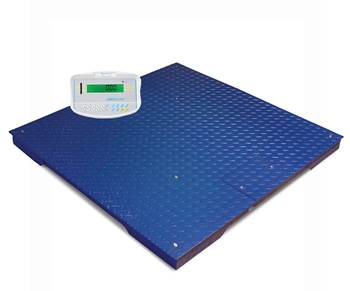 Large platform scales, 1000 kg load, 0.2 kg, 1500x1500 mm