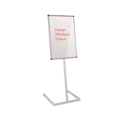 Free-standing foyer whiteboard