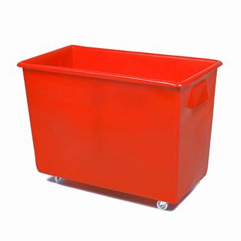 Bottle skip, 620x820x455 mm, 165 L, red