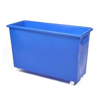 Bottle skip, 620x970x380 mm, 185 L, blue