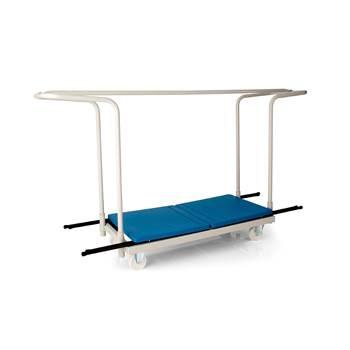 Exam desk trolley