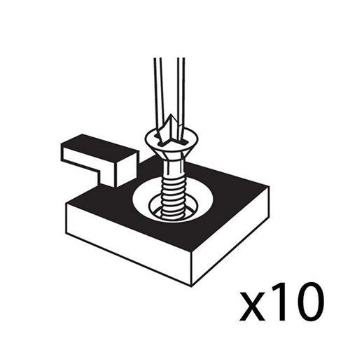 Small floor hooks: 10 pcs