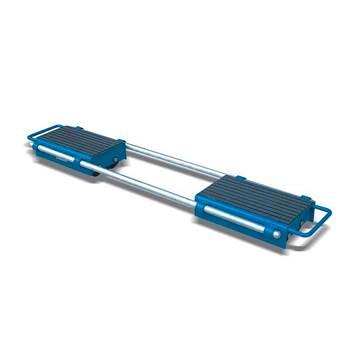 Adjustable skate pair: 12,000kg