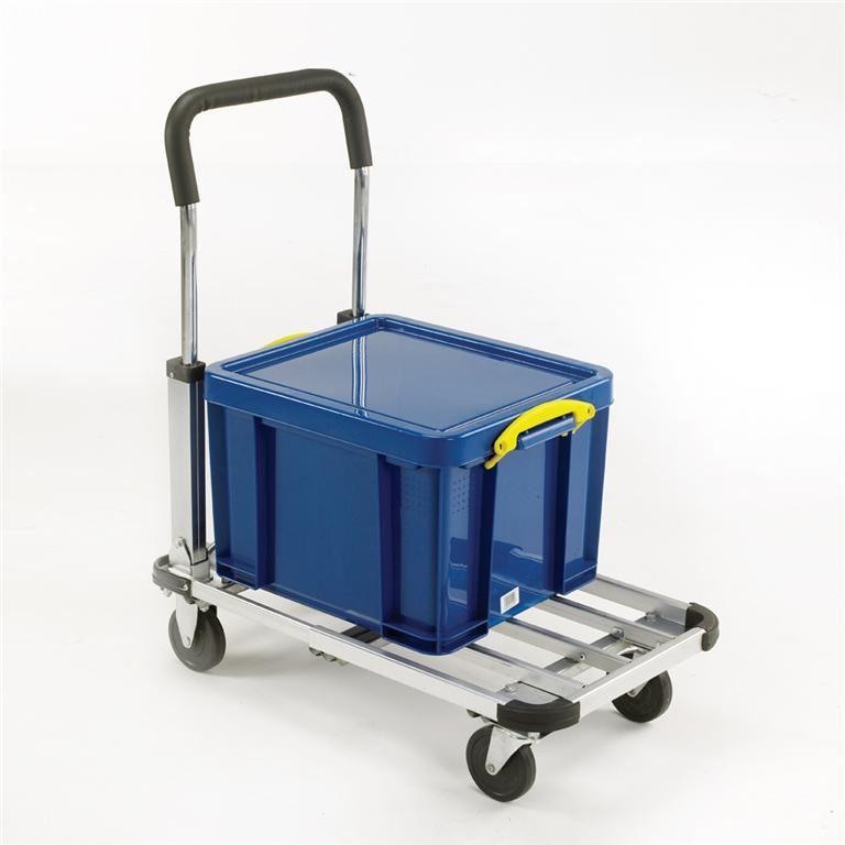 Light-duty multi-position folding trolley: 110kg