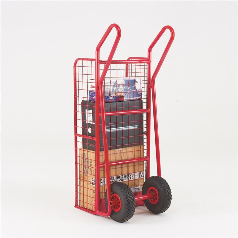 Sack truck with mesh back and sides: 200kg