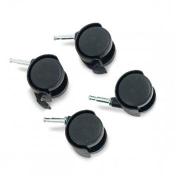 """Set of 4 castors for """"Recycling box system"""""""