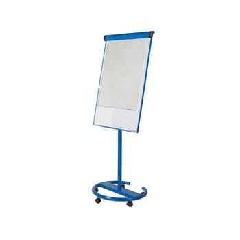 Ultimate mobile flip chart easel, 700x1000 mm, blue
