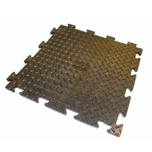 """Chex"" heavy-duty checker plate tiles"