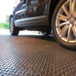 """Chex"" heavy-duty checker plate tiles"